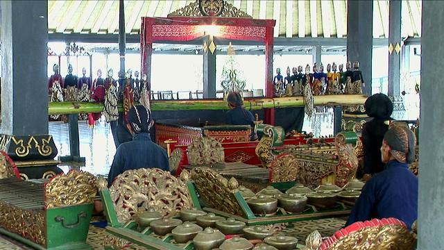 Indonesia - Java - Yogyakarta - Kraton - Museum - Gamelan Musicians - 5