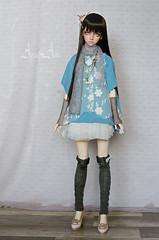 Smart Girl (AyuAna) Tags: ball design clothing doll skin body handmade ooak clothes bjd lydia dollfie hybrid nuevo homme jointed granado elfdoll normalskin ayuana