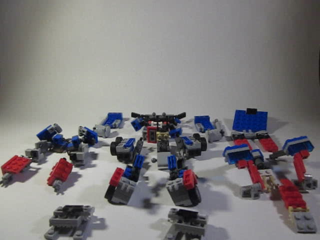 Tutorial-Assembly part 1- Movie Optimus Prime
