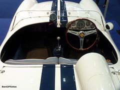 250 TR Recreation (BenGPhotos) Tags: show blue white london classic sports car race italian ferrari racing prototype 1957 recreation rare 250 tr v12 rossa testa 2015 tr57