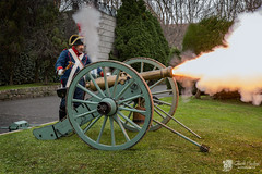 Recreacin de la Batalla de Elvia (Chencho Mendoza) Tags: disparo batalla caon acorua recreacin elvia chenchomendoza
