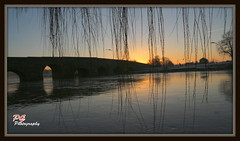 Sun Rise (paul giles19) Tags: bridge trees sky sun cold water canon reflections paul photography frozen frost giles rise avon warwickshire on 650d bidford