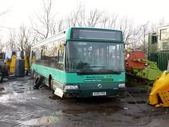 AU05 FKB (markkirk85) Tags: county new bus green ex buses yard norfolk scrapyard scrap services stagecoach ramsey 32005 fkb irisbus au05 7141 39894 agoraline au05fkb