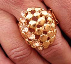 5th Avenue Gold Ring K2 P4316-1