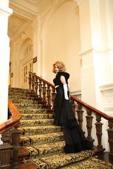 Diva going to her boudoir (Gloria Vulcano) Tags: drag star model highheels crossdressing wig transvestite gown dragqueen crossdresser crossdress travestie travestiet