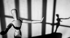 Me and my Shadow (Mac McCreery) Tags: blackandwhite shadows windowlight tamron1750 pentaxk5iis