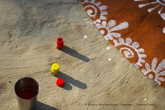 Happy Makar Sankranti (Sanhita Bhattacharjee) Tags: school india abstract colour photography prime google nikon good culture nikkor bengal 2015 tripura makarsankranti alpona betterphotography bengalee nikkor50mm18g nikond3100 121click sanhitabhattacharjee pousparban bengaleesculture