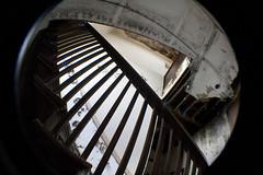 Bath11 (Richard_Gillespie) Tags: urban abandoned ex rural belt illinois bath rust decay exploring central il fisheye lynchburg mansion urb oakford