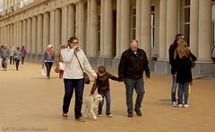 Belgian coast (Natali Antonovich) Tags: family portrait dog childhood animal architecture walking children seaside belgium belgique belgie walk seagull lifestyle promenade tradition relaxation oostende seashore seasideresort belgiancoast seaboard