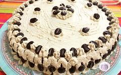 Ricetta torta con crema diplomatica al caff (RicetteItalia) Tags: cucina dolci torte ricette