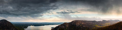 Clash of the Highlands (pidalaphoto) Tags: ny newyork mountains clouds sunrise river dark moody valley hudsonriver hudsonvalley bullhill hudsonhighlands clearingstorm coldspringny mttaurus mounttaurus philipstown