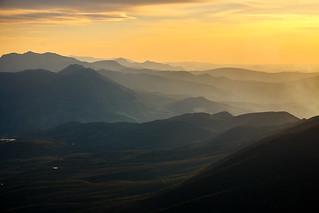 Sierra Sur Jaén desde Sierra Mágina