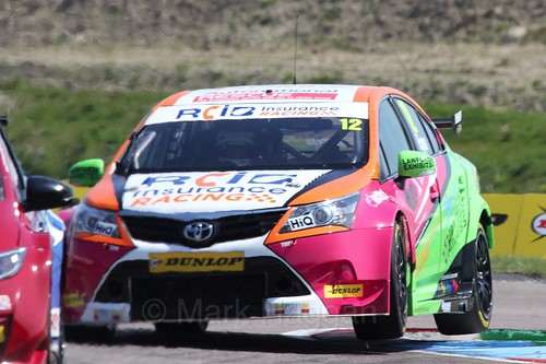 Mike Epps during the BTCC Weekend at Thruxton, May 2016