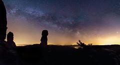 Bis an die Sterne (Philipp Zieger - Thank you all for over 1.000.000 ) Tags: sky panorama nature night zeiss stars nacht sony natur himmel sterne milkyway schsischeschweiz elbsandsteingebirge pfaffenstein saxonyswitzerland barbarine a6000 milchstrase sel2418