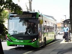 SN16 OOV (26043) (brendan315) Tags: stagecoach bus brand new pr parkandride park ride e200mmc enviro200mmc enviro 200 mmc green winchester 16reg 16 reg