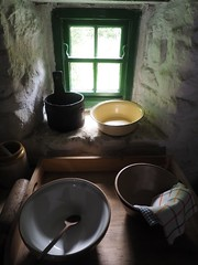 Pots (Feldore) Tags: life old ireland irish house green window still farm traditional spoon olympus pots homestead northern windowsill mchugh whitewash em1 cultra 1240mm feldore