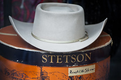 Time to Pull Out the Ole' Stetson (Orbmiser) Tags: hat oregon portland spring nikon cowboy box western stetson d90 55200vr