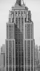 The Empire State Building, New York City (jag9889) Tags: nyc newyorkcity blackandwhite bw usa house ny newyork building monochrome architecture skyscraper observation unitedstates outdoor manhattan unitedstatesofamerica rockefellercenter aerialview landmark midtown deck observatory esb empirestatebuilding topoftherock rockefellerplaza 2016 jag9889 20160614