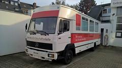 MB LN 814 (Vehicle Tim) Tags: truck mercedes mb fahrzeug sparkasse ln lkw kastenwagen