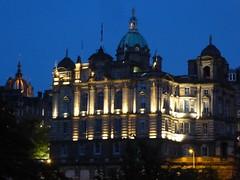 Edinburgh at night (stillunusual) Tags: travel urban building architecture night dark landscape evening scotland edinburgh cityscape urbanlandscape urbanscenery 2016 travelphotography travelphoto travelphotograph