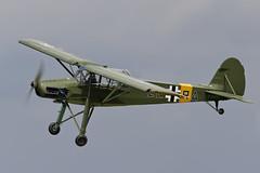 Fieseler Fi156C-3 Storch - 9 (NickJ 1972) Tags: les la aviation airshow temps storch 2016 alais helices ferte fieseler fi156 fazra 2era