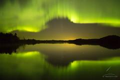 Framed (Brett Abernethy(www.brettabernethy.com)) Tags: nightphotography night aurora nightsky northernlights auroraborealis