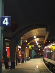 ...4... (project:2501) Tags: lighting wood light train four lights 4 curves platform trainstation nightlight canopy traintravel trainplatform onthetrain neonlight litup fluorescentlight waitingforatrain platform4 atthestation oxfordroadtrainstation woodcanopy trainfromliverpool