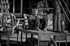 Street photography (Saman A. Ali) Tags: street people blackandwhite man monochrome blackwhite streetphotography photojournalism fujifilm kurdistan sulaymaniyah stphotografia fujifilmxt1