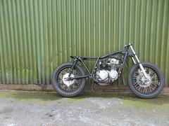 IMG-20160605-WA0005 (digyourownhole) Tags: vintage honda motorcycle restoration caferacer cb550 bratt buildnotbought