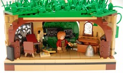 Share in an Adventure (NS LEGO Designs) Tags: trees plants grass underground landscape lego hill adventure lotr creation segment lordoftherings hobbits build vignette bilbobaggins hobbiton hobbithole moc bagend theshire frodobaggins fellowshipoftherings gandalfthegray unexpectedjourney royoffloremheim scicastle