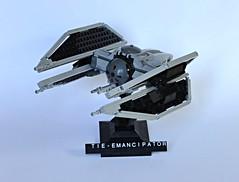 TIE-Emancipator (Veynom) Tags: starwars fighter lego tiefighter moc starfighter