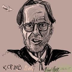 R. Crumb Study 1 (Leland Green...) Tags: art portrait anatomy comix cannabiscomix cannabiscomics drawing rcrumb robertcrumb corelpainter corelpainter2016 computerpainting undergroundcomix underground comics