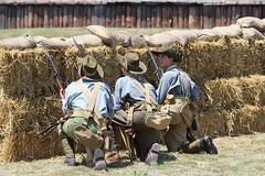 Fort George in the Great War (jmaxtours) Tags: ontario infantry training wwi worldwarone soldiers reenactment niagaraonthelake aussies niagarafallsontario thegreatwar