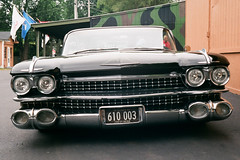 1959 Cadillac Coupe DeVille (pabs35) Tags: chevrolet film car 35mm classiccar fuji superia rangefinder headlights cadillac fujifilm grille deville canonet ql17 canonetql17 1959 coupedeville cadillaccoupedeville superia200 believeinfilm
