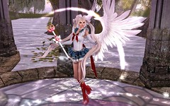 In The Name Of The Moon.... (hausofgraphelle) Tags: hausofgraphelle secondlife sl avatar usagi crystal hearts festival sailormoon sailor moon senshi