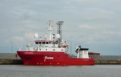 M.V. FUGRO HELMERT (David Shreeve) Tags: survey vessel uk england grimsby dock nelincs humber ship maritime