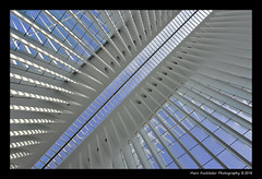 World Trade Center Transportation Hub, New York (Marc Funkleder Photography) Tags: usa newyork abstract station architecture hub subway design newjersey unitedstates metro path manhattan worldtradecenter wtc lowermanhattan santiagocalatrava portauthority abstrait etatsunis newyorkcitysubway transportationhub worldtradecentertransportationhub