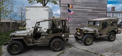 Capitulation of the union jack... (ericbaygon) Tags: usa army us nikon jeep flag military militaire drapeau arme kaki nikonpassion d300s