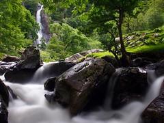Aber Falls (Raydn Hunter) Tags: northwales waterfall olympus olympuspen ndfilter snowdonia