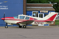 N28141 (GH@BHD) Tags: aircraft aviation viking cranfield bellanca superviking 1730a n28141 cranfieldairfield