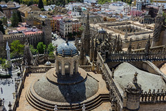 Looking down, Sevilla (andbog) Tags: city houses roof panorama espaa building church architecture sevilla spain cityscape view rooftops cathedral sony tetti gothic edificio catedral iglesia seville case andalucia chiesa espana vista es alpha sonya andalusia sel overlook architettura spagna pinnacles csc citt cattedrale oss siviglia ilce sonyalpha mirrorless 1650mm a6000 sony emount selp1650 sonyalpha6000 ilce6000 sonya6000 sonyilce6000 sony6000 6000
