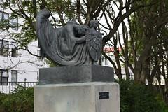 """Iceland. Reykjavik. The Einar Jnsson Sculpture Garden. """"Christmas"""" Jol 1917-22. (Anne and David.) Tags: christmas bronze iceland reykjavik jol einarjnssonsculpturegarden"""