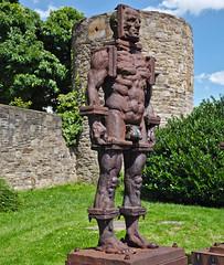 Ironman (diarnst) Tags: sculpture art iron outdoor kunst skulptur metall powerful eisen gx8 maskulin panasinic