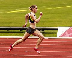 female sprinter (stevennokes) Tags: woman field athletics birmingham track meadows running smith mens british hudson sainsburys asher muir hurdles rooney 100m 200m sprinter 400m 800m 5000m 1500m mccolgan twell