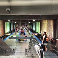 Blue Line (wdfloyd) Tags: travel chicago illinois airport cta blueline escalator chicagol