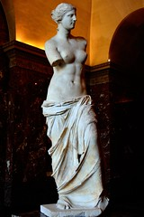 Venus de Milo (tokyobogue) Tags: paris louvre france museedulouvre museum art gallery venusdemilo sculpture greek greece marble nikon d7100 nikond7100