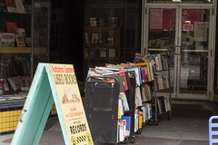 Outdoor Book Racks Autumn Leaves Used Books2016 East Coast Trip July 28, 2016 308 (stevendepolo) Tags: autumnleavesusedbooks ithaca ithacacommons outdoor book racks newyork