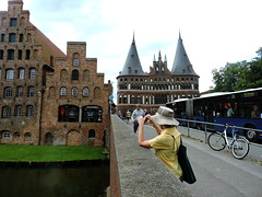 Lbeck, Germany (asterisktom) Tags: holstentor 2016 trip2016kazakheuro july germany lbeck luebeck lubeck
