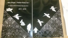 First copies arrived (Mdanger217) Tags: max danger original works vol1 origami book