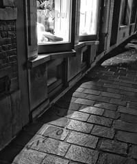 Reflected (Jay-Aitch) Tags: reflected reflection cobbled street shop window lumix g vario 14140f3556 panasonic gx8